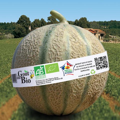 Gout du biologique Melons