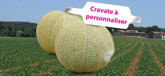 CRAVATE À PERSONNALISER